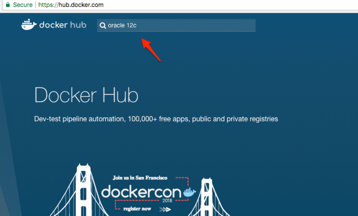 Docker Installation of Oracle Database 12c on Mac – An